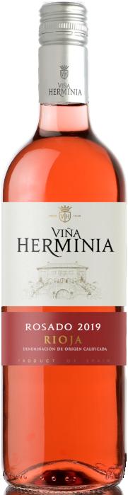 Botella de Herminia rosado-en
