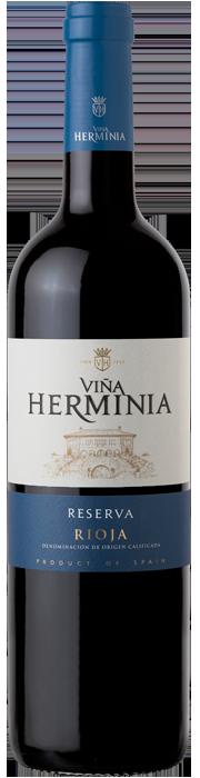 Botella de Herminia reserva-en