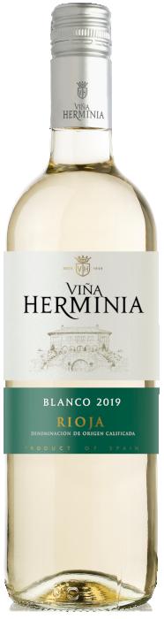 Botella de Herminia blanco-en